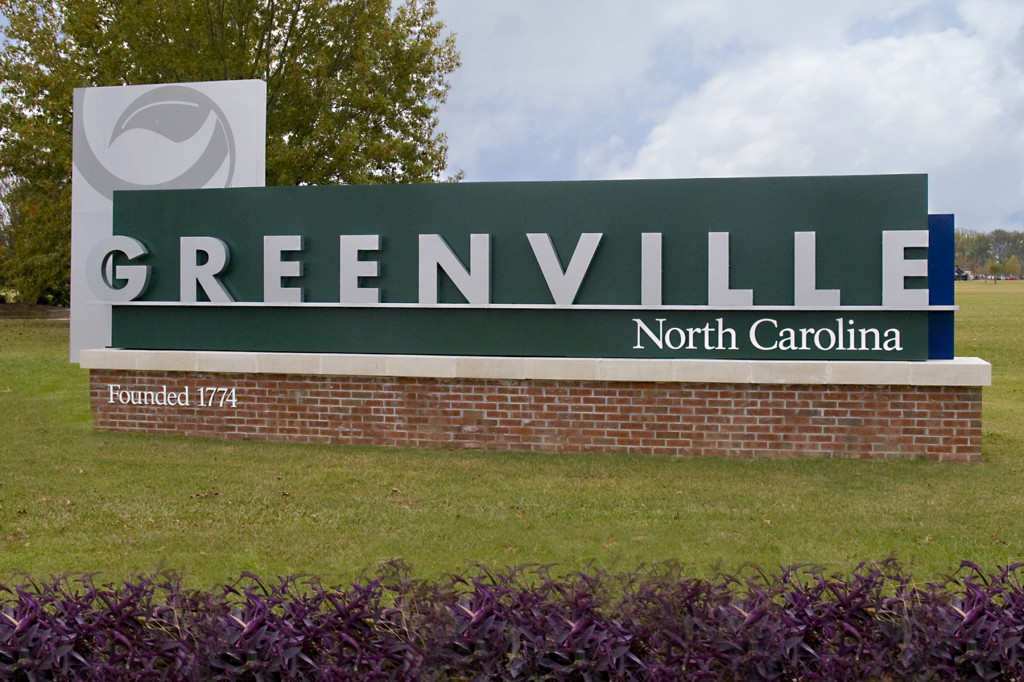 Greenville Sign Photo